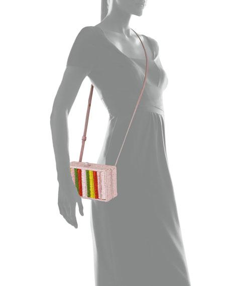 Sophie Anderson Mia Woven Raffia Belt Bag