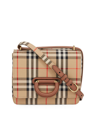 Vintage Check D-Ring Crossbody Bag