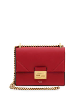 104adb9432c Fendi Kan Small Matte Grace Leather Crossbody Bag