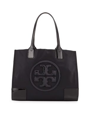 e430498de Tory Burch Ella Nylon and Leather Tote Bag