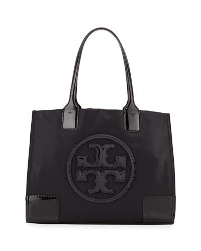 Ella Nylon and Leather Tote Bag