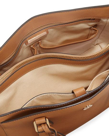 Tory Burch Robinson Small Saffiano Tote Bag