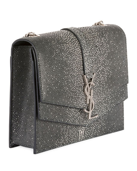 Image 3 of 4: Suplice YSL Monogram Double-Flap Shoulder Bag