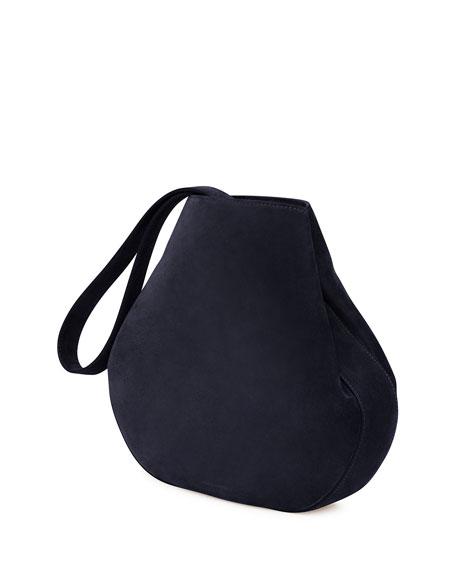 Mansur Gavriel Suede Drawstring Pouch Bucket Bag