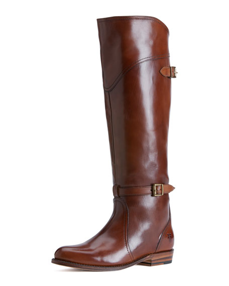 Dorado Polished Leather Riding Boot