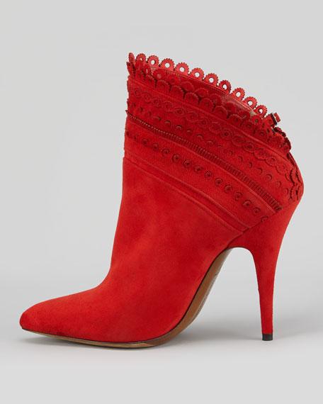 Tabitha Simmons Harmony Slant-Shaft Ankle Boot