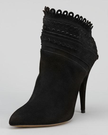 Harmony Slant-Shaft Ankle Boot