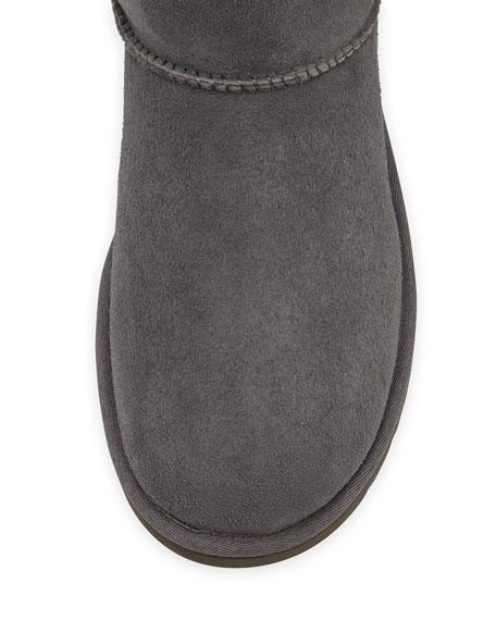Bailey Button Short Boot, Gray