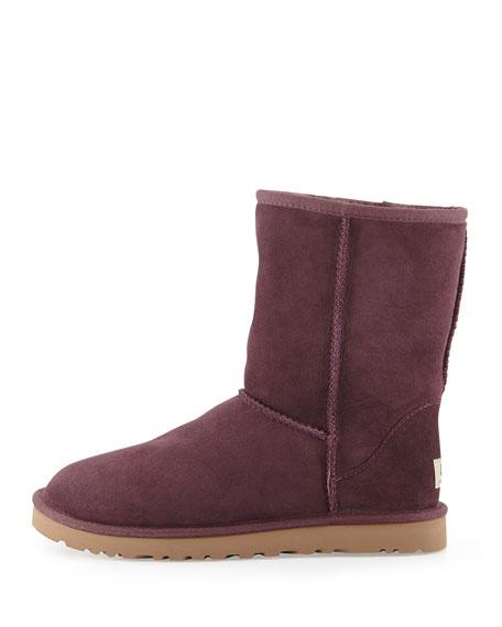 Classic Short Boot, Dark Purple