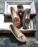 Image 2 of 5: Daisy Leather Moccasin Loafer