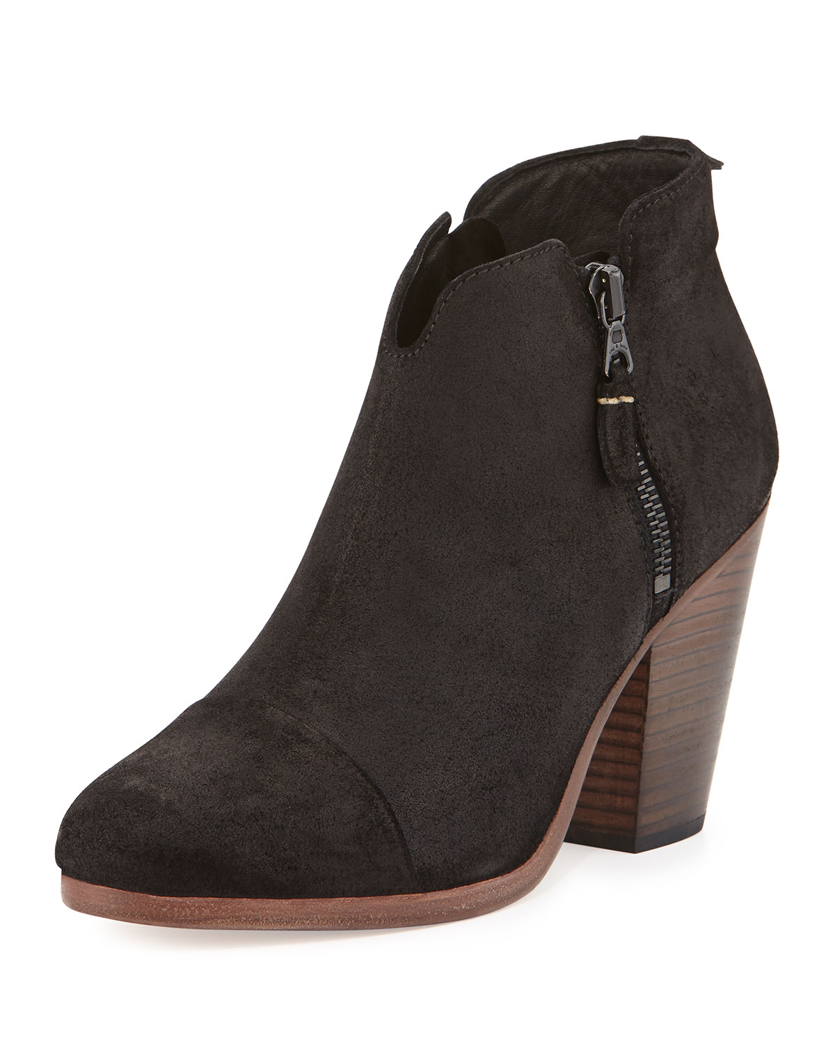 c3515712d3 Margot Leather Ankle Boot, Black