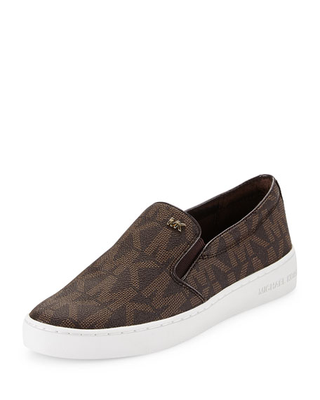 michael michael kors keaton slip on sneaker neiman marcus. Black Bedroom Furniture Sets. Home Design Ideas