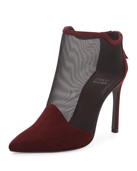 Escort Naked Ankle Bootie, Currant