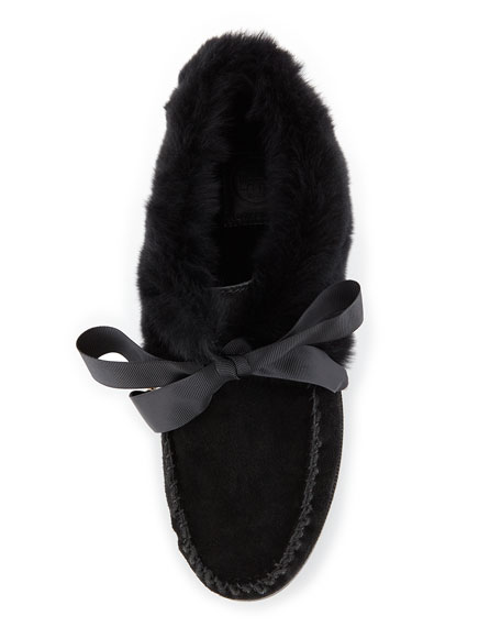 Aberdeen Fur-Lined Slipper