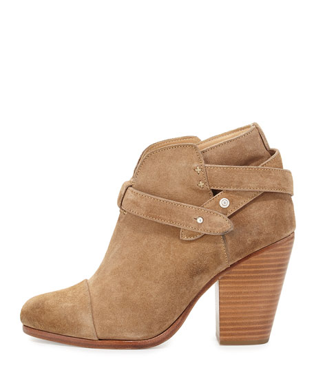 Harrow Suede Ankle Boot, Camel