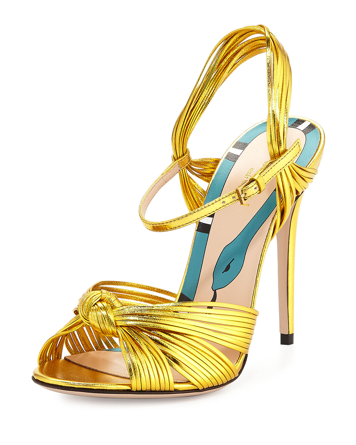 7994738b75f Gucci Allie Knotted Strappy Sandal