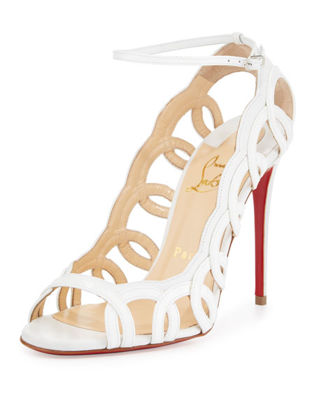Christian Louboutin Houla Hot Patent 100mm Red Sole