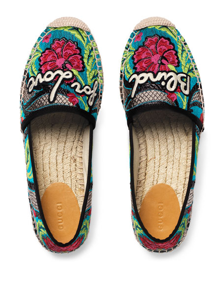 Pilar Blind for Love Espadrille Flat