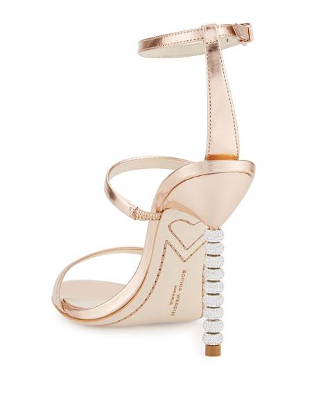 dc45bba056f8 Sophia Webster Rosalind Crystal-Heel Leather Sandals