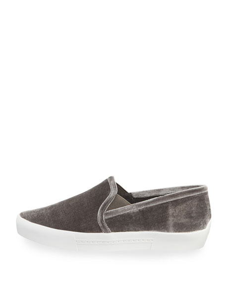 Huxley Velvet Slip-On Sneaker
