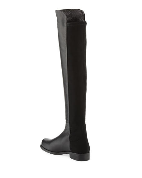 f1810a89268 Stuart Weitzman 50 50 Leather Over-the-Knee Boot