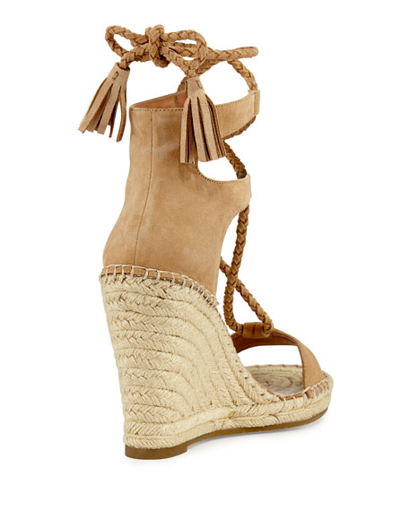 Delilah Braided Wedge Espadrille Sandal
