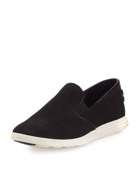 Cole Haan Ella Grand 2 Slip-On Sneaker, Black