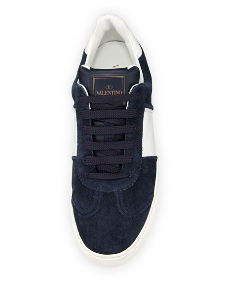 Fly Crew Suede Low-Top Sneakers