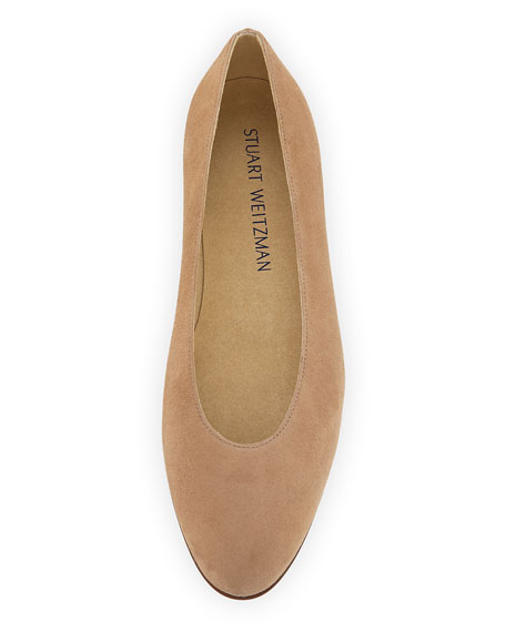 Chicpearl Suede Ballet Flat