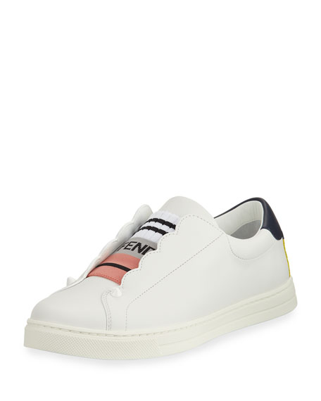 Fendi Scalloped Skate Sneaker
