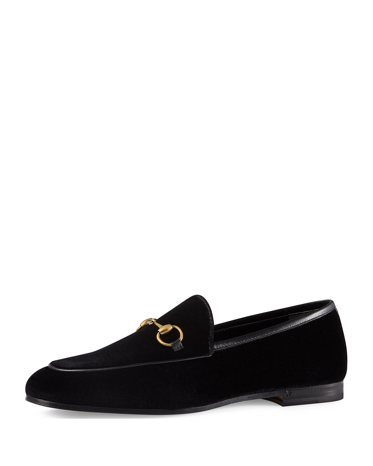 91228dc2f44 Gucci 10mm New Jordaan Velvet Loafer