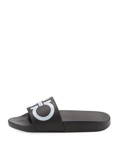 Pool Slide Sandal, Black