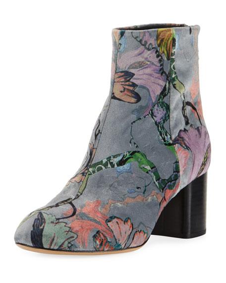 RAG&BONE Drea Velvet Ankle Boots yzsd5X