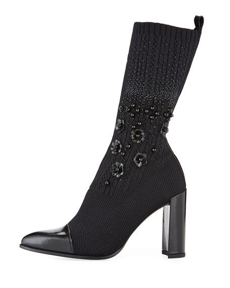 Sockhop Knit Glove Mid-Calf Boot