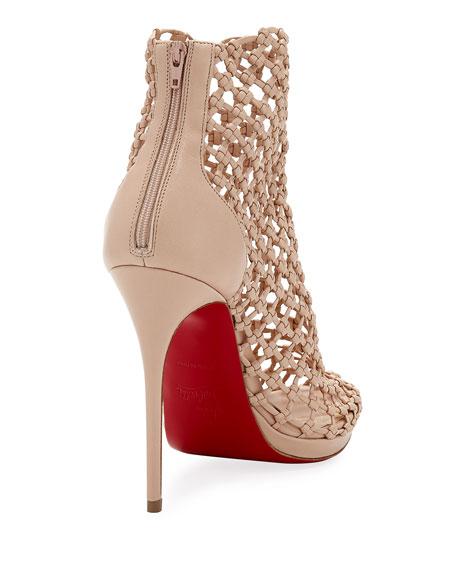 Porligat Caged Red Sole Heel