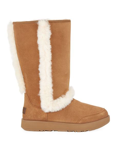 Sundance Waterproof Suede Boot