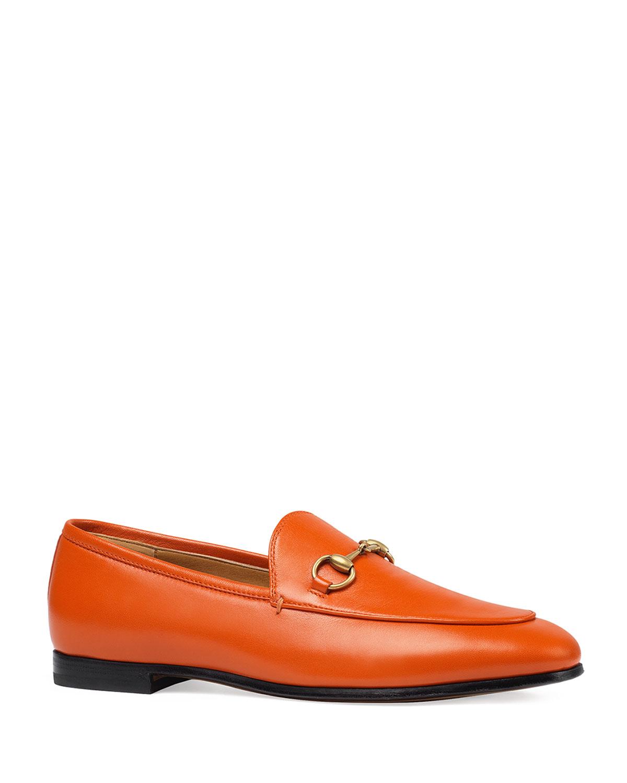 9928ba3dec1 Gucci Flat Jordaan Leather Loafer