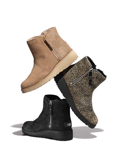 Shala Mini Zip Ankle Boot