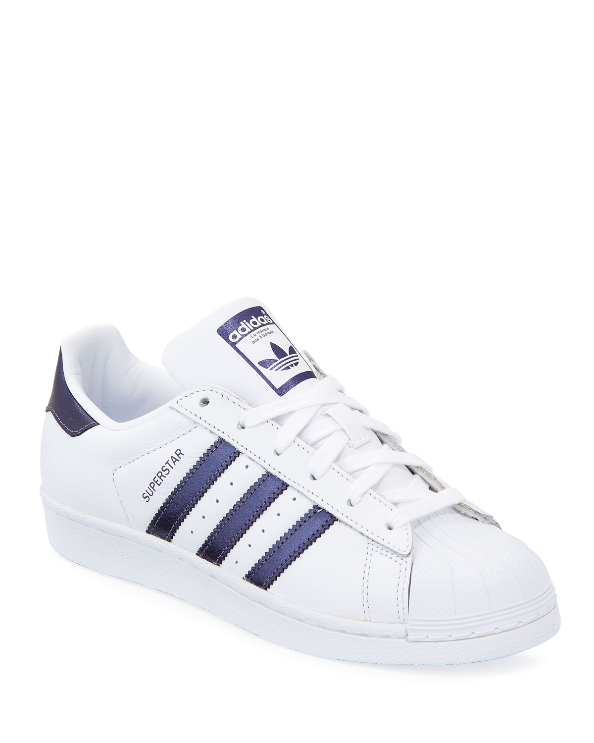 7e21ced364fe Adidas Superstar Lace-Up 3-Stripes® Sneakers