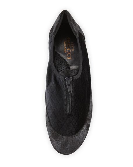 Sesto Meucci Besie Quilted Comfort Flat
