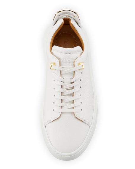 Women's 50mm Leather Low-Top Sneaker