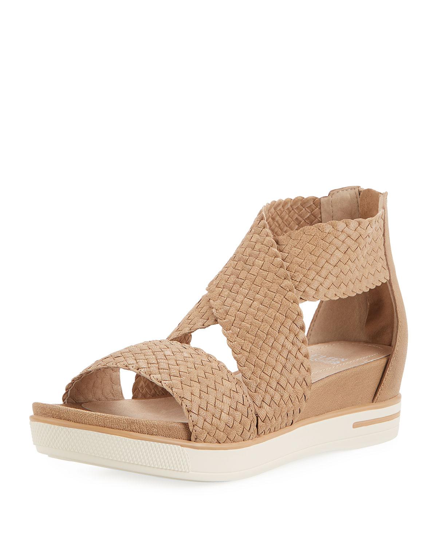 621ab112e Eileen Fisher Sport Woven Platform Sandals | Neiman Marcus