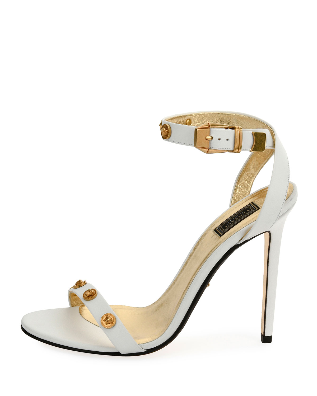 Versace Tribute Strappy Studded Sandals