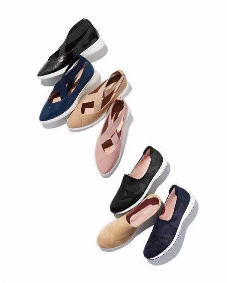 Taryn Rose Danielle Comfort Walking Shoe