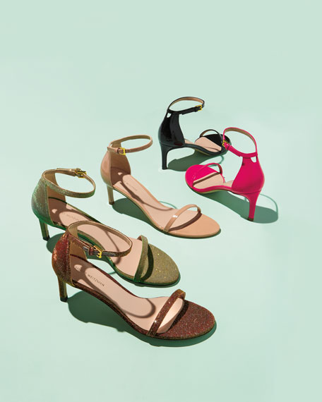 45NUDIST Gloss Naked City Sandals