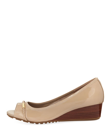 Emory Open-Toe Wedge Pump