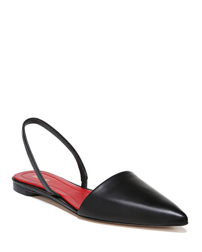 Koko Slingback Ballet Flats  Black