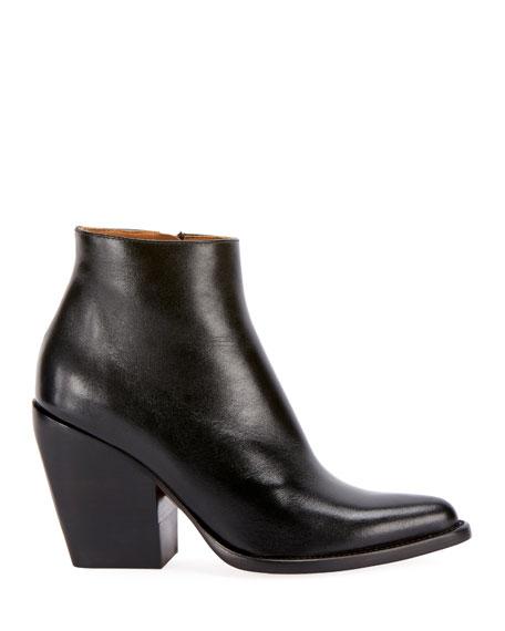 Chloe Rylee 90MM Block Heel Western Booties