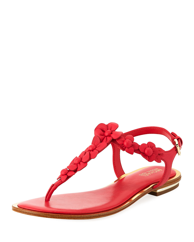 447a2a54f9c MICHAEL Michael Kors Tricia Flower Thong Sandal