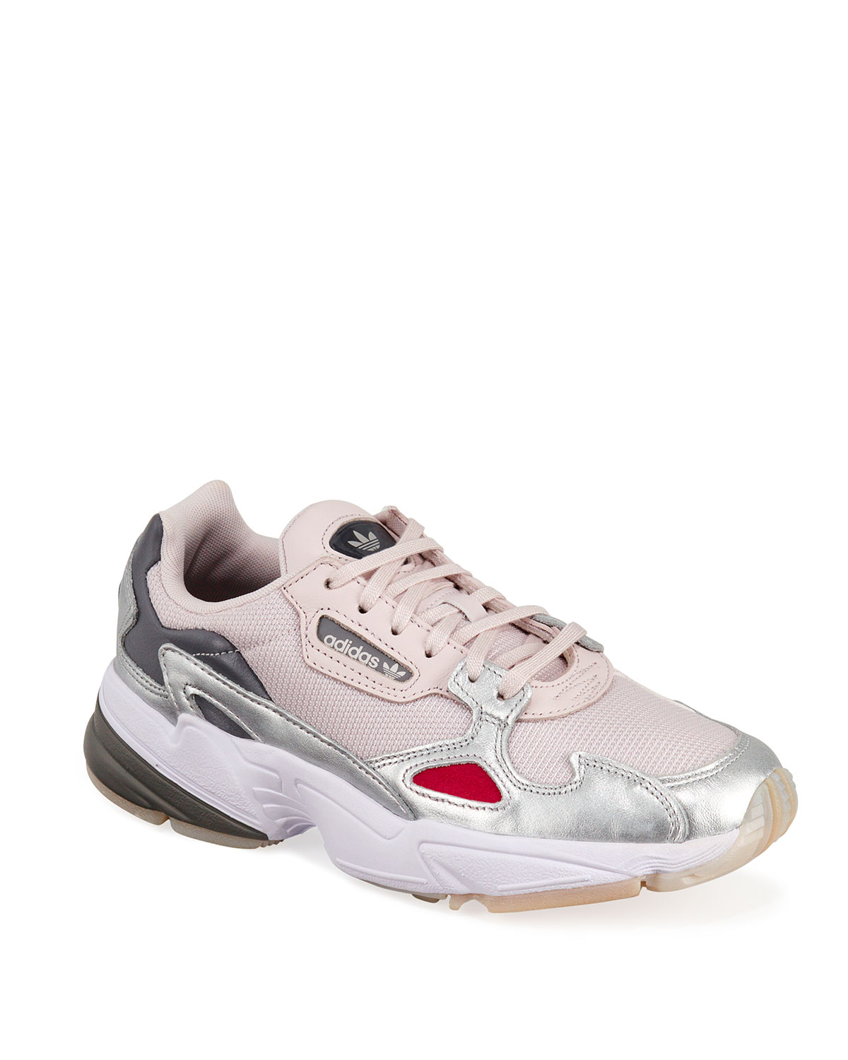 Adidas New York Trainer Sneakers Neiman Marcus    Adidas Falcon Metallic Trainer Sneakers   title=          Neiman Marcus